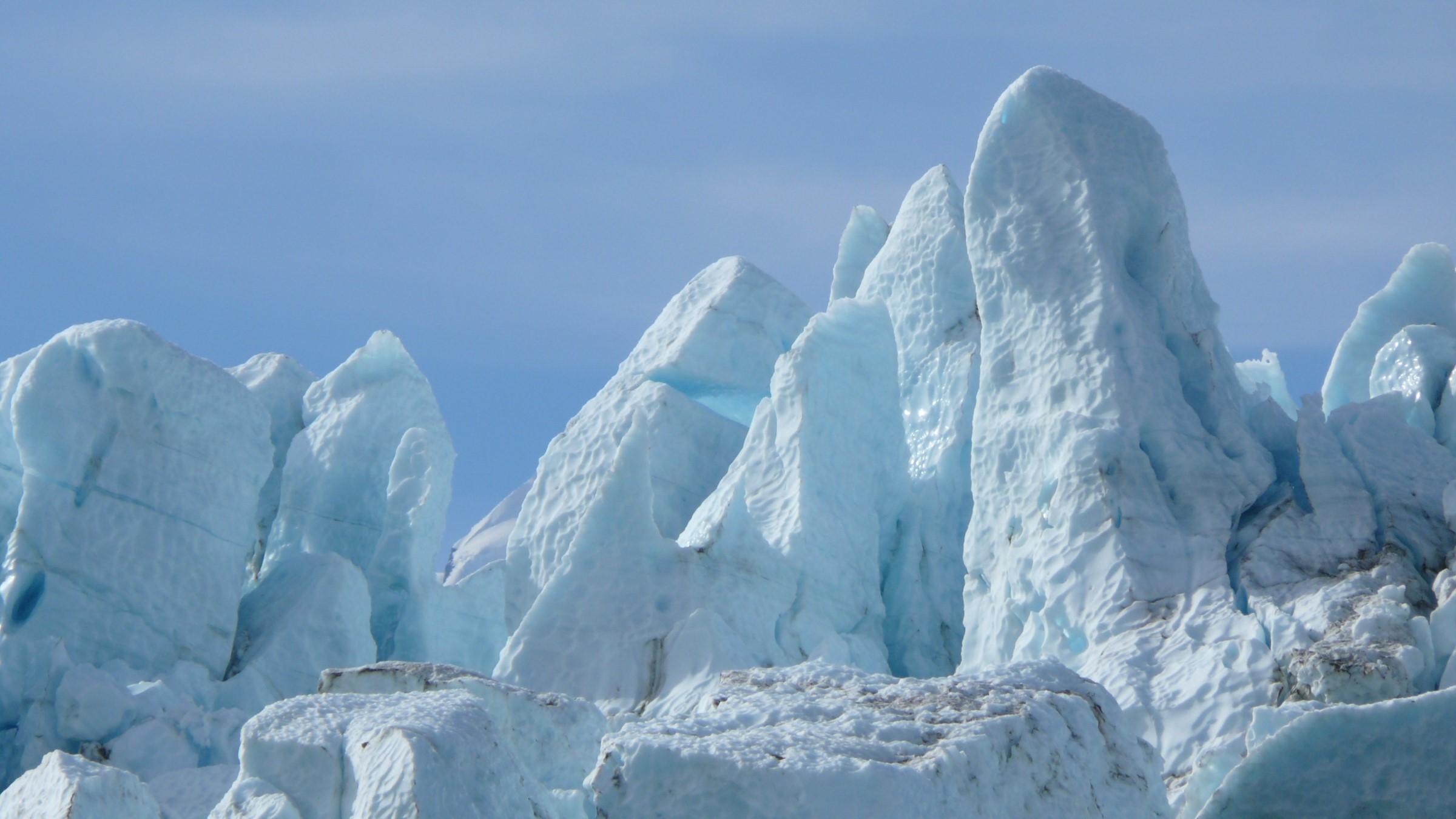 Glacier in Alaska national park