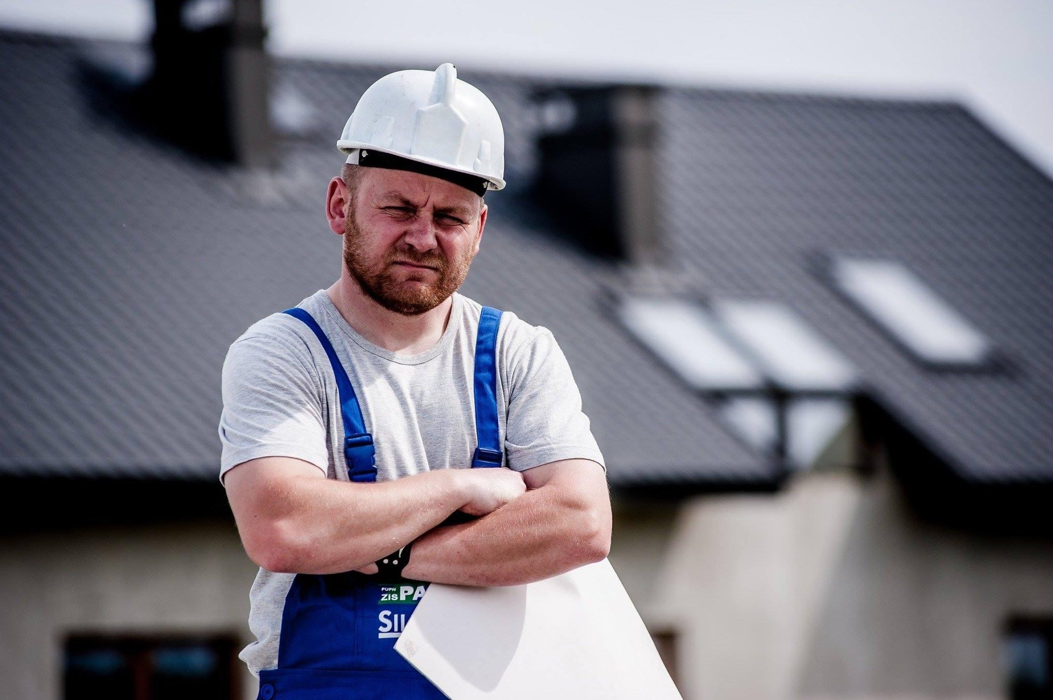 Worker builder plans house