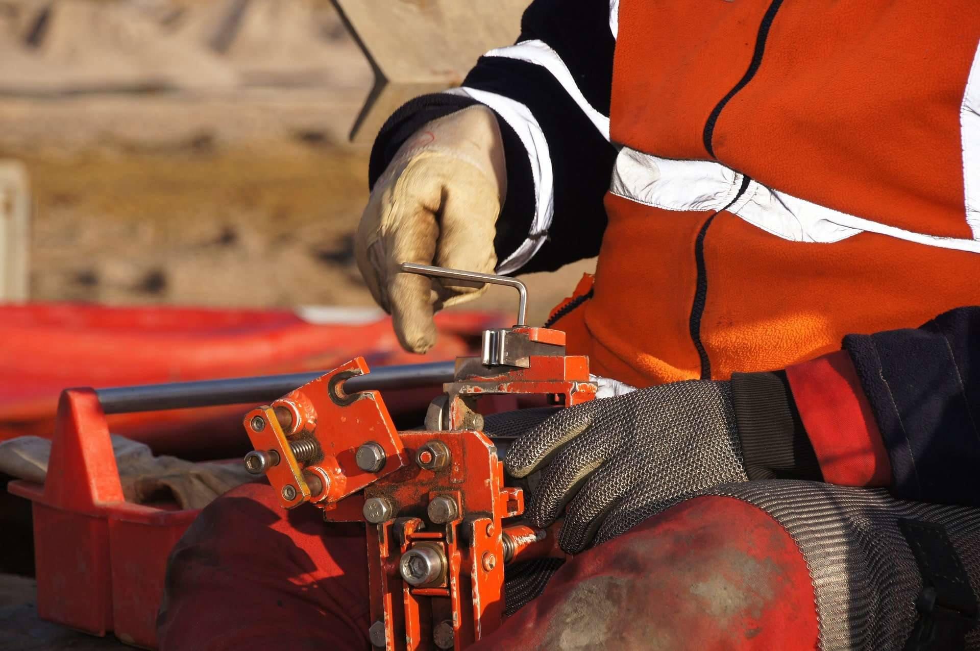 Worker machinery Allen key