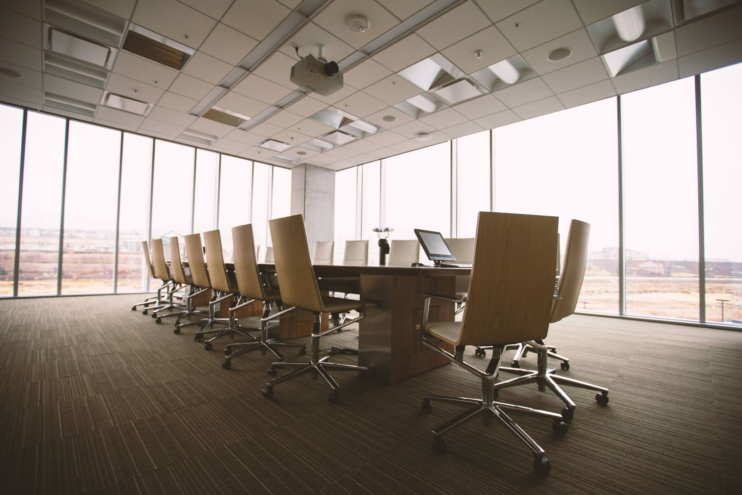 office meeting room table chairs