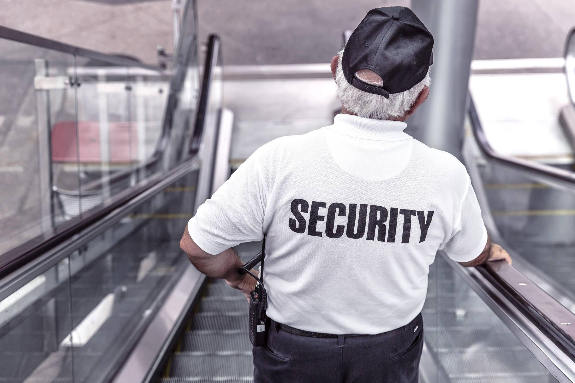 office security guard man