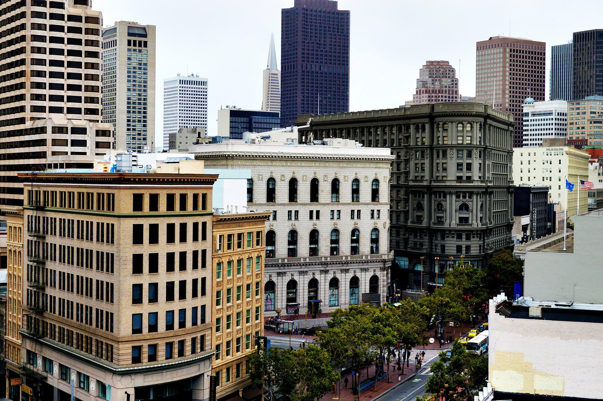 san francisco california downtown financial