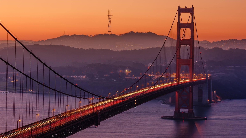 san francisco california golden gate bridge bay