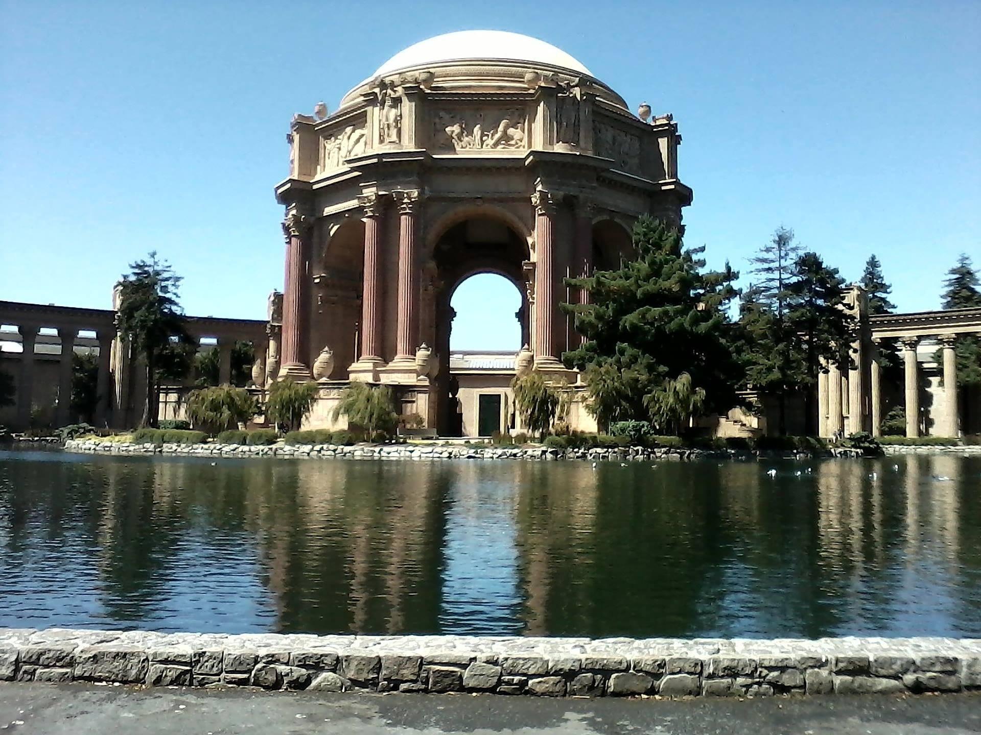 san francisco california palace of fine arts