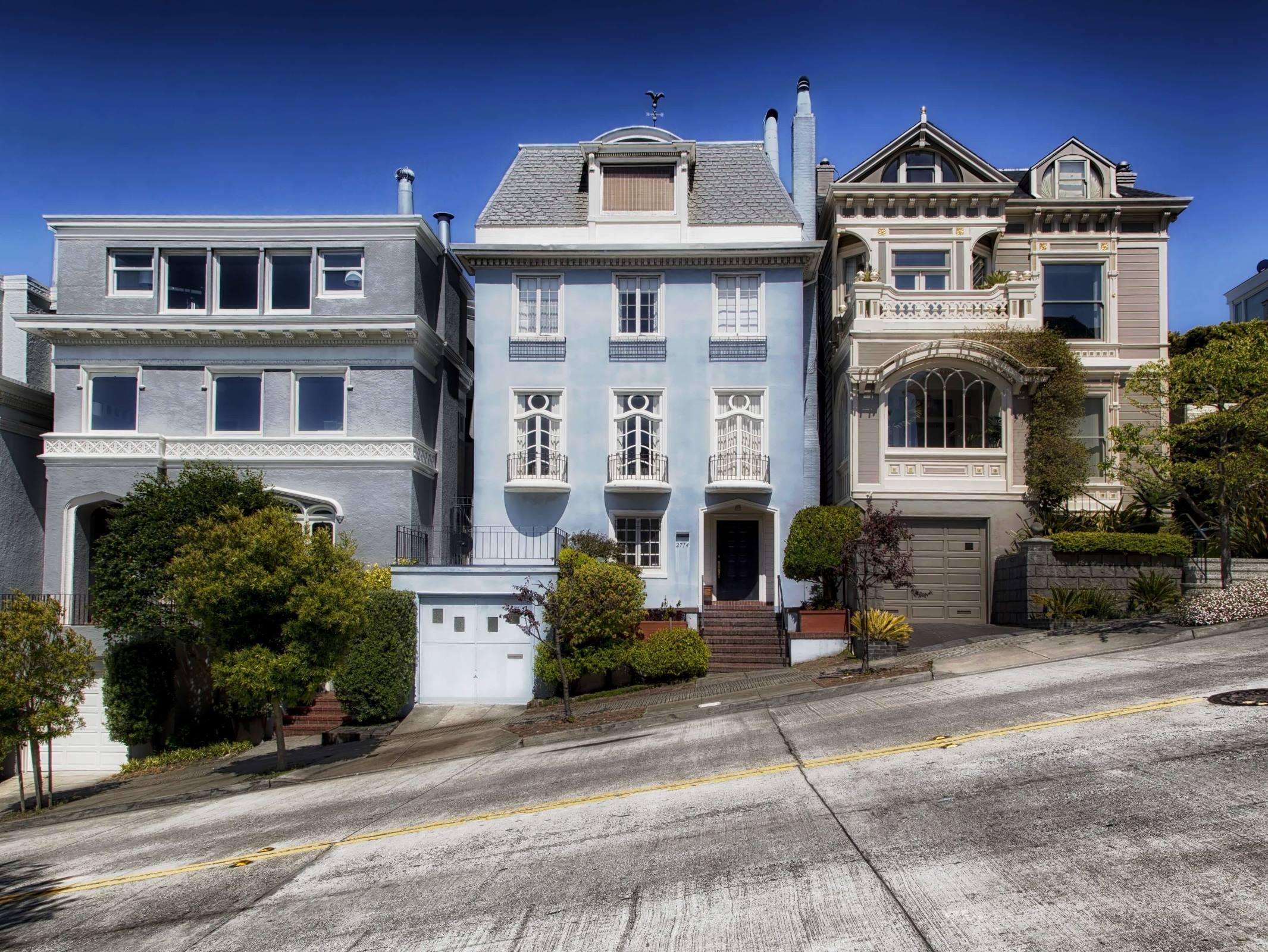san francisco california street houses