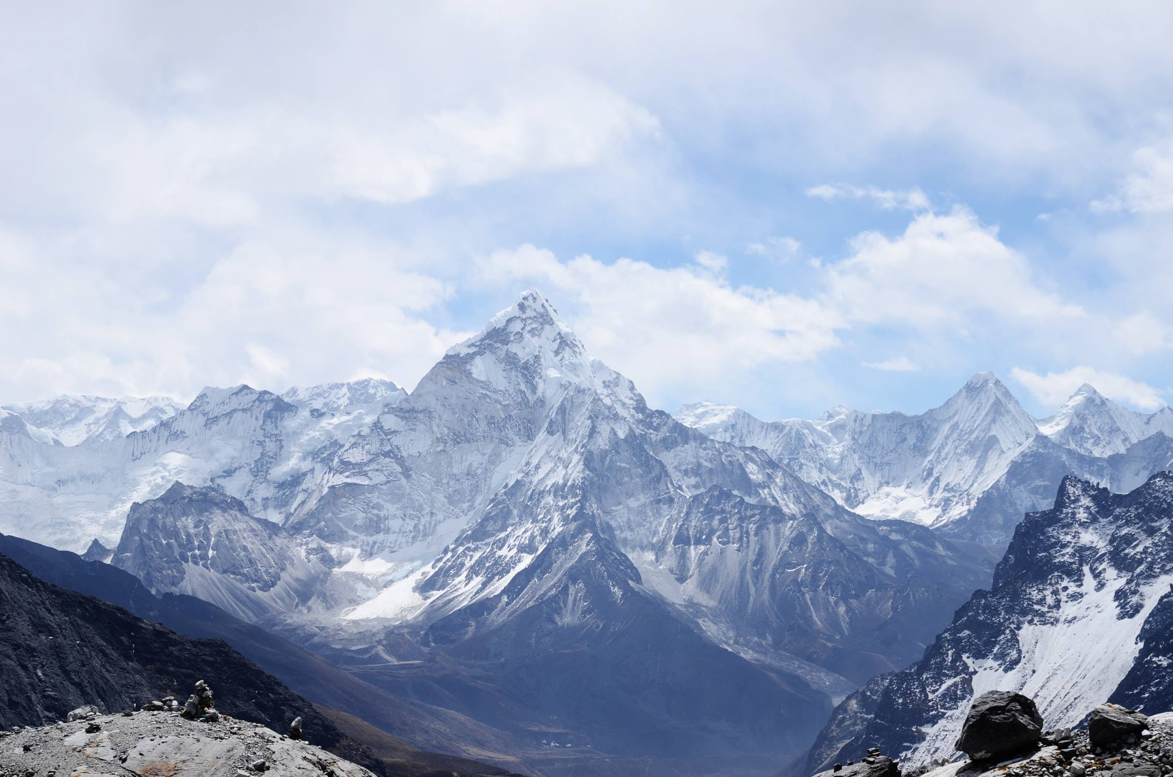 winter landscape mountains snow