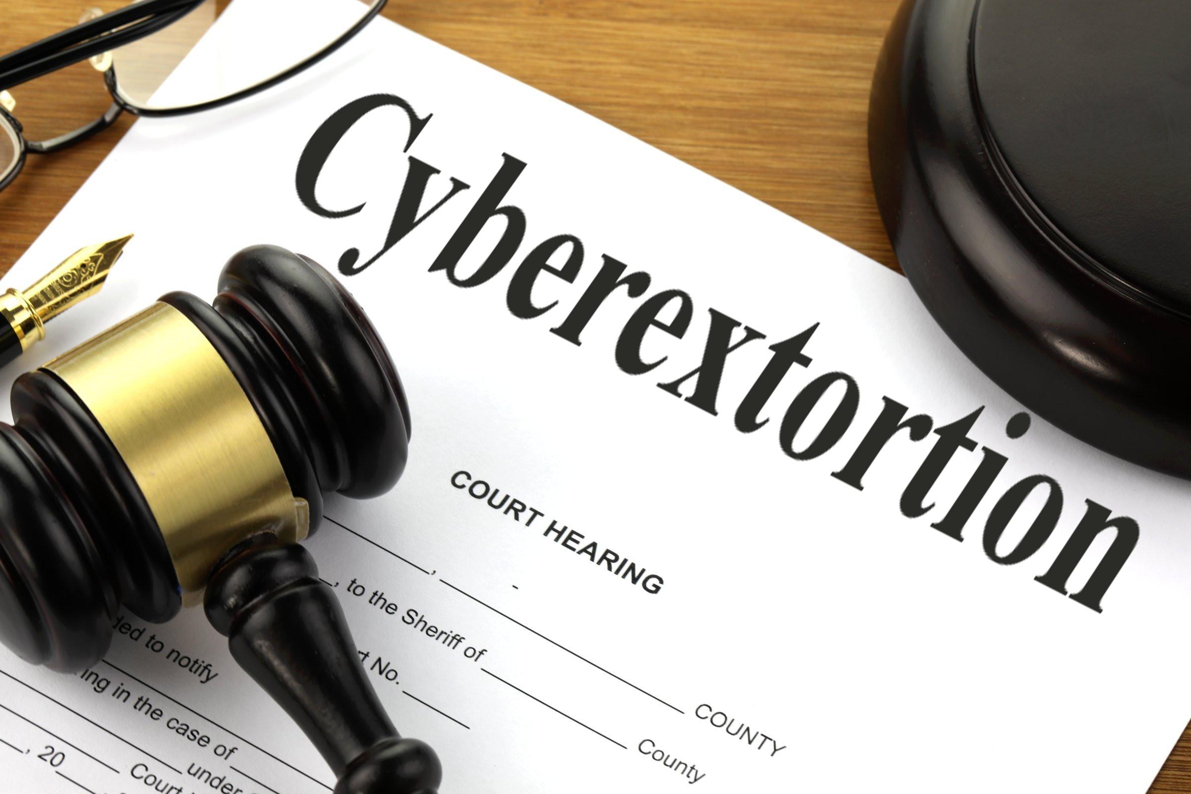 cyberextortion