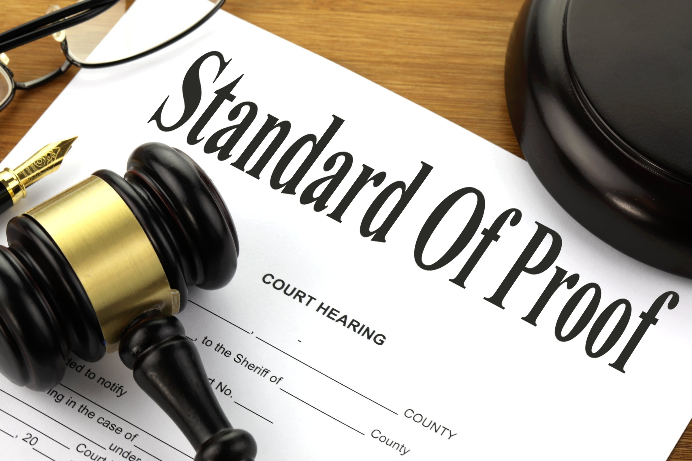 Standard Of Proof - Free of Charge Creative Commons Legal 1 image