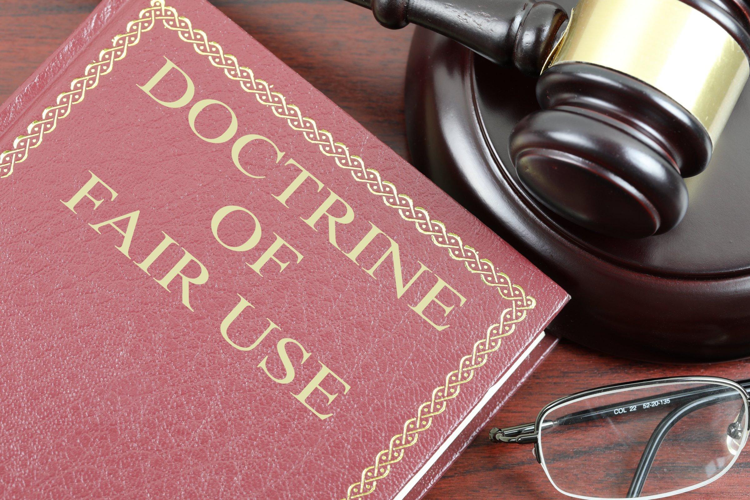 doctrine of fair use