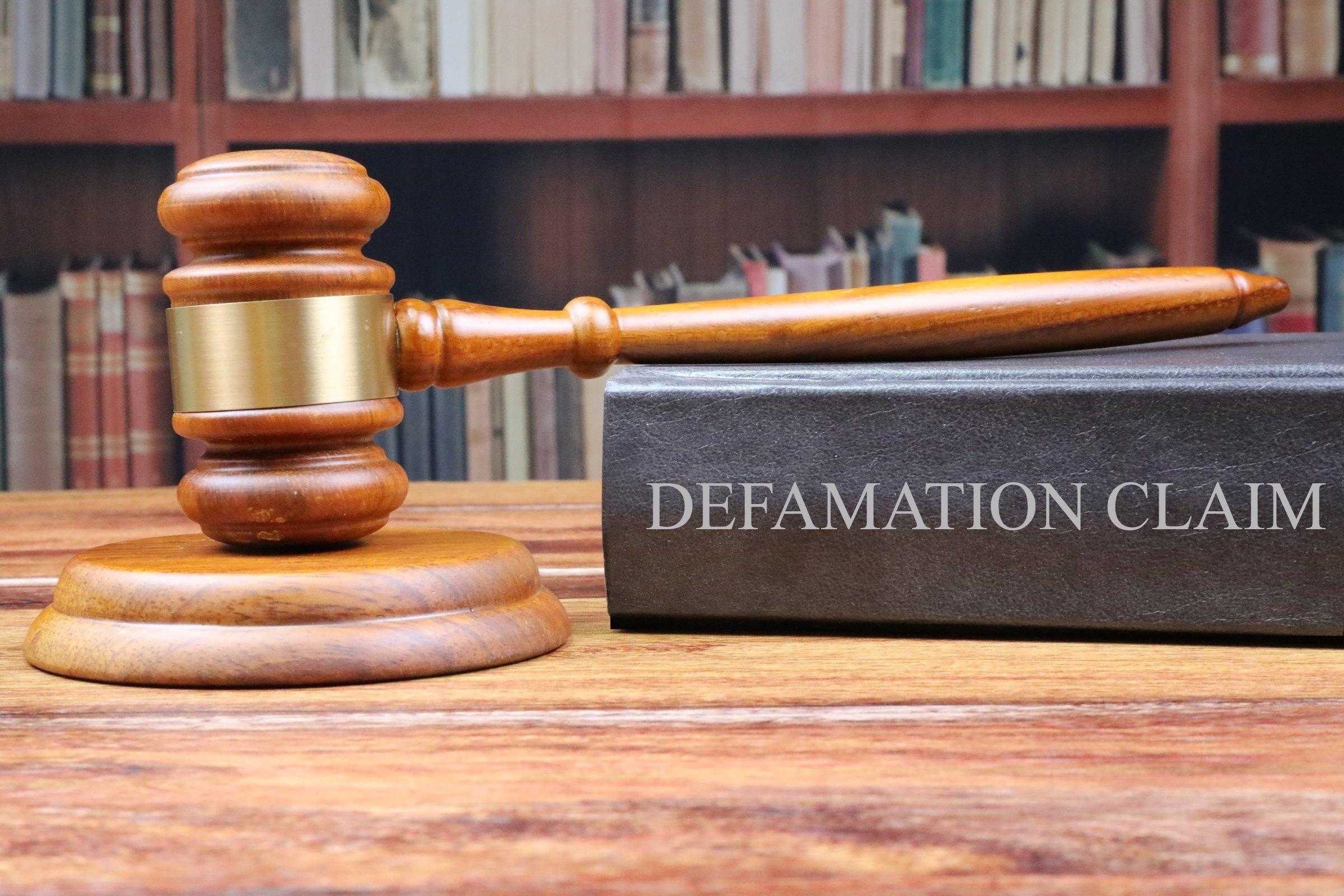 Defamation Claim