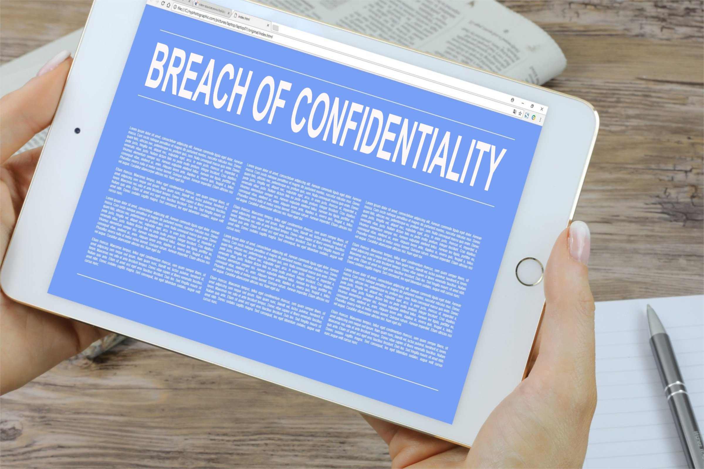 Breach of Confidentiality