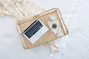 laptop bed coffee tray