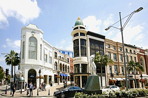 los angeles california rodeo drive beverley hills
