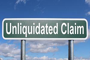 unliquidated claim
