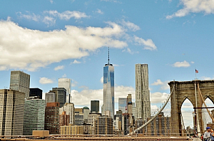 new york manhattan skyline cityscape