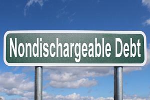 nondischargeable debt