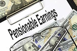 pensionable earnings