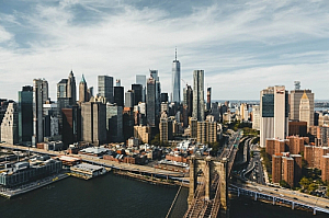 new york cityscape city skyline