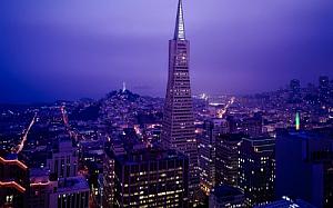 san francisco california cityscape transamerica pyramid 1