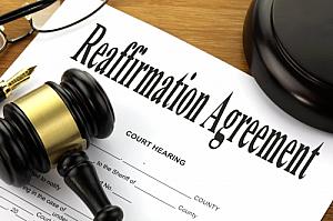 reaffirmation agreement
