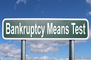 bankruptcy means test