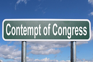 contempt of congress