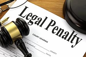 legal penalty