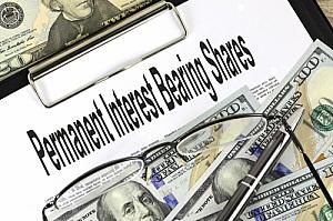 permanent interest bearing shares