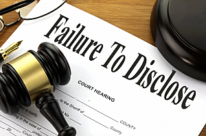 failure to disclose