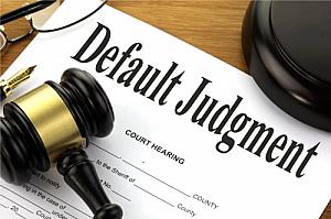 default judgment