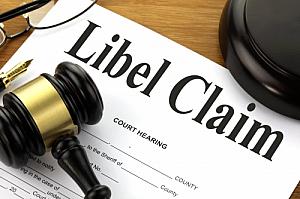 libel claim