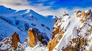 winter cosmiques ridge mountain snow