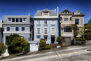 san francisco california street houses