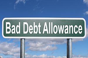 bad debt allowance