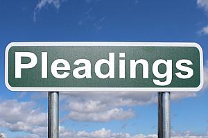 pleadings