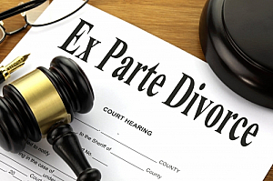 ex parte divorce