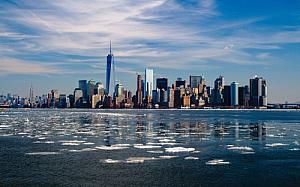 new york skyline cityscape skyscrapers