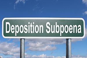deposition subpoena