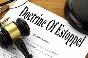 doctrine of estoppel