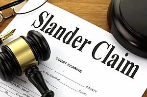 slander claim