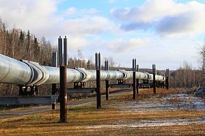 Pipe line in Alaska