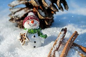 Christmas snowman