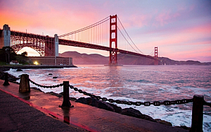 san francisco california water golden gate bridge